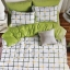 ชุดผ้าปูที่นอนลายเส้นลายตาราง ขนาด 6 ฟุต, 5 ฟุต, 3.5 ฟุต thumbnail 1