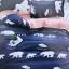 ชุดผ้าปูที่นอนลายการ์ตูนสัตว์น่ารัก ขนาด 6 ฟุต, 5 ฟุต, 3.5 ฟุต thumbnail 1