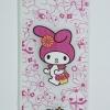 เคส iphone 6Plus, 6SPlus วัสดุ TPU ลายการ์ตูนสีชมพู