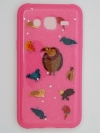 TPU เคส J5 Prime ลายการ์ตูนสัตว์ น่ารักๆ สีชมพู
