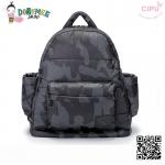 CiPU BACKPACK - CAMOUFLAGE-(Size M : W13 x L35x H37 cm. / สายเป้ยาว 42-74cm)