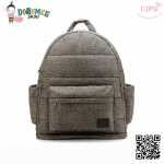 CiPU BACKPACK - ENGLAND GREY-(Size XL : W17 x L41x H48/ สายเป้ยาว 54-89 cm)