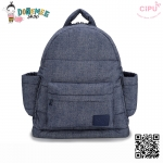 CiPU BACKPACK - DENIM BLUE-(Size S : W11.5 x L26x H28 cm.)