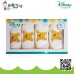 Disney ผ้าอ้อมเยื่อไผ่เนื้อนิ่ม พิมพ์ลายดิสนีย์ By Mummily ขนาด 27x27 นิ้ว แพ็ค 4 ผืน