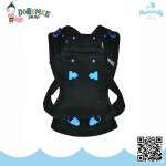 เป้อุ้มเด็ก Pao Papoose Carrier 3-in-1 Front & Back Baby Carrier by We Made Me สีดำ