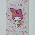 เคส iphone 5, 5S, SE วัสดุ TPU #2 ลายการ์ตูน สีชมพู