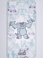 เคส iphone 7Plus, 8Plus วัสดุ TPU ลายการ์ตูนสีฟ้า