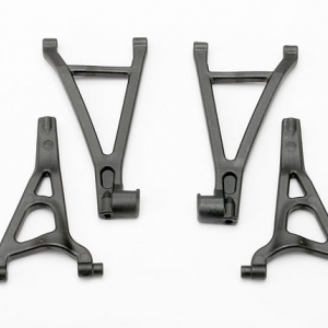 Suspension arm set, front (includes upper right & left and lower right & left arms)