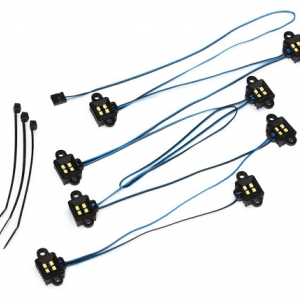 LED rock light kit, TRX-4 (requires #8028 power supply)