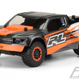 2017 Ford F-150 Raptor Desert Truck Clear Body for Slash 2wd, Slash 4x4, SC5M, 22SCT & Ten-SCTE/2.0