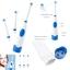 แปรงสีฟันไฟฟ้ากันน้ำ 3 หัว Electric Toothbrush Oral Hygiene Rotating Anti Slip Pro