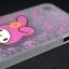 เคส iphone 5, 5S, SE วัสดุ TPU #2 ลายการ์ตูน สีชมพู thumbnail 2