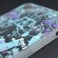 เคส iphone 7Plus, 8Plus วัสดุ TPU ลายการ์ตูนสีฟ้า thumbnail 2