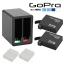 แบตเตอรี่และที่ชาร์จ GoPro Hero 4 AHDBT-401 AHDBT401 1680mAh and Dual Charger
