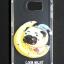 เคส Galaxy S6 TPU ใส ลายการ์ตูนสวยๆ ขอบโครเมี่ยมสีเงิน thumbnail 1