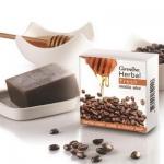 สบู่สครับผิวกิฟฟารีน ด้วยสครับกาแฟ อ่อนโยนต่อผิว ผลัดเซลล์ผิวกาย ขัดผิวขาว เพื่อผิวขาวกระจ่างใส