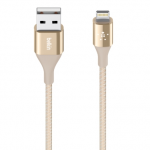 Belkin สายชาร์จไอโฟน Lightning Cable for iPhone - Gold