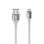 Belkin สายชาร์จไอโฟน Lightning Cable for iPhone - Silver