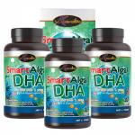 อาหารเสริมบำรุงสมอง Smart Algal DHA (น้ำมันตับปลา) นำเข้าจากออสเตเรีย 3 กระปุก
