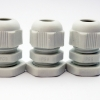 LOBO ELECTRIC CABLE GLAND PG9 4 - 8 สีขาว