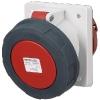 ปลั๊กตัวเมียฝัง แบบเฉียง 20 ํ ชนิดกันน้ำ IP67 125Amp ขั้ว 3+N+E 400V