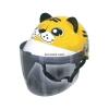 หมวกกันน็อคเด็ก INDEX รุ่นซูว์ เสือเหลือง : Zoo Tiger Yellow