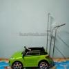 รถเสาน้ำเกลือเด็ก มินิคาร์-เขียวอ่อน