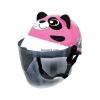 หมวกกันน็อคเด็ก INDEX รุ่นซูว์ แพนด้า สีชมพู : Zoo Panda Pink