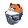 หมวกกันน็อคเด็ก INDEX รุ่นซูว์ เสือส้ม : Zoo Tiger Orange