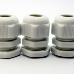 LOBO ELECTRIC CABLE GLAND PG11 5 -10 mm. สีขาว