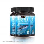 Auswelllife Pure Squalene สควอลีนน้ำมันตับปลาฉลาม 3 กระปุก 180 แคปซูล