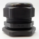 LOBO ELECTRIC CABLE GLAND PG42 32 - 38 mm. สีดำ