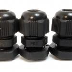 LOBO ELECTRIC CABLE GLAND PG7 3 - 6.5 mm. สีดำ