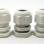 LOBO ELECTRIC CABLE GLAND PG13.5 6 -12 mm. สีขาว