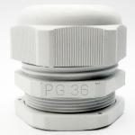 LOBO ELECTRIC CABLE GLAND PG36 22 - 32 mm. สีขาว