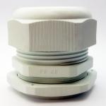 LOBO ELECTRIC CABLE GLAND PG48 37 - 44 mm. สีขาว