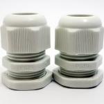 LOBO ELECTRIC CABLE GLAND PG19 12 -15 mm. สีขาว