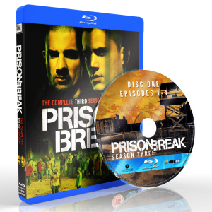 US0702 - Prison Break SEASON 3 (2007) (1 DISC) (THAI/ENG) [แผ่นสกรีน]