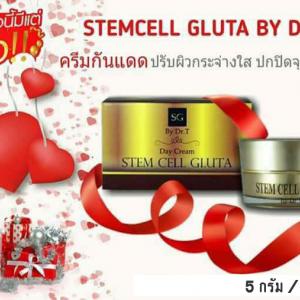 Stemcell Gluta BY DR.T (15กรัม) ครีมกันแดด ปรับผิวกระจ่างใส ปกปิดจุดด่างดำ