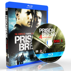 US0803 - Prison Break SEASON 4 (2008) (2 DISCS) (THAI/ENG) [แผ่นสกรีน]