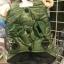 ชุดแฟนซี น้องหมา น้องแมว ชุดกันหนาวกันลมสีเขียวมีฮู๊ด thumbnail 2