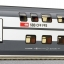 Roco64853 IC2000 double deck SBB service car