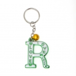พวงกุญแจตัวอักษร R 12อัน