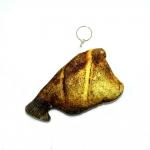 พวงกุญแจผ้าสักหลาด ปลาทูไม่มีหัว 12อัน