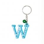 พวงกุญแจตัวอักษร W 12อัน
