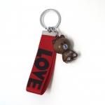 พวงกุญแจห้อยกระเป๋า สายสีแดง 12อัน