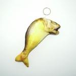 พวงกุญแจผ้าสักหลาด ปลาทู 12อัน