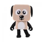 ลำโพงหมาเต้นได้ Dancing speaker dog สีครีม