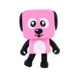 ลำโพงหมาเต้นได้ Dancing speaker dog สีชมพู