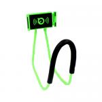 ที่จับมือถือแบบคล้องคอ สีเขียว